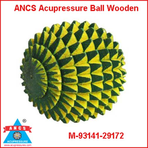 Acupressure Energy Ball (Wooden)