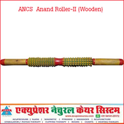 Acupressure Anand Roller-II (Wooden)