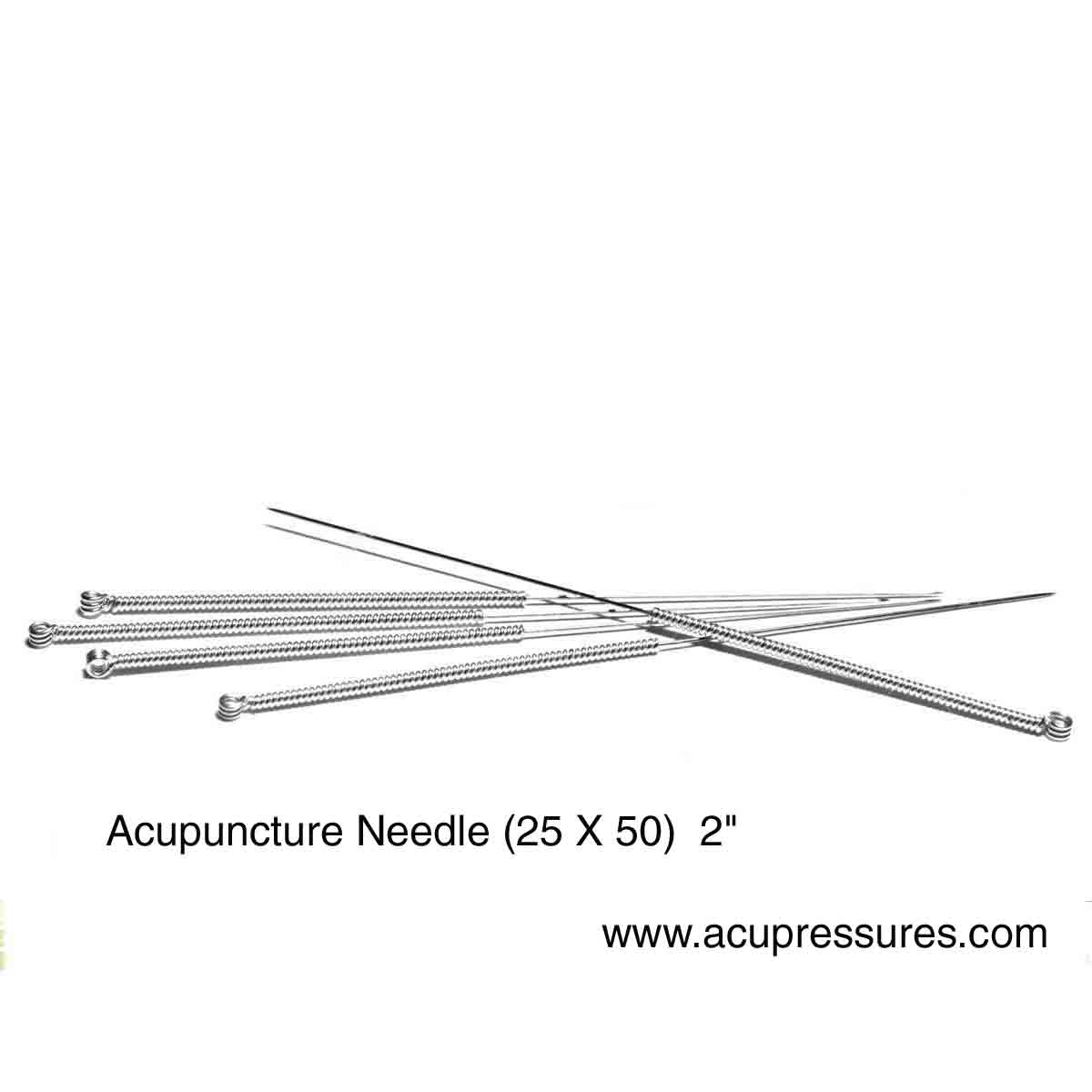 Acupuncture Needle (25X50)  2  (100pc)