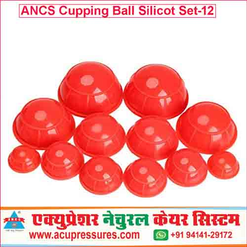 Vaccum Half Ball Set 12 Silicon