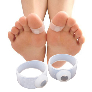 Magnetic Weight Loss Toe Ring Set