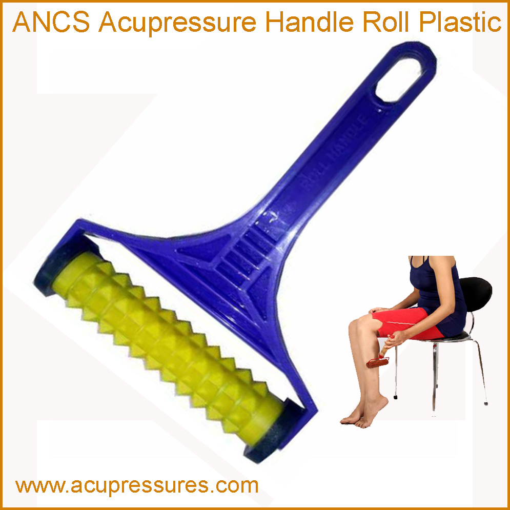 Acupressure Handle Plastic Pyramidal (Back Roll)